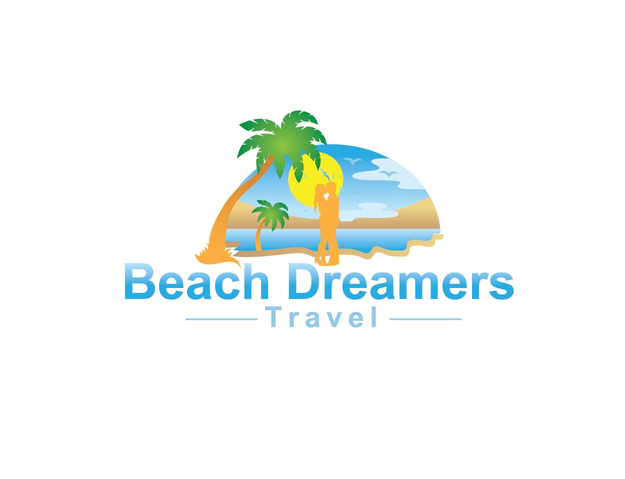 177 Feminine Playful Travel Logo Designs for Beach Dreamers Travel ...