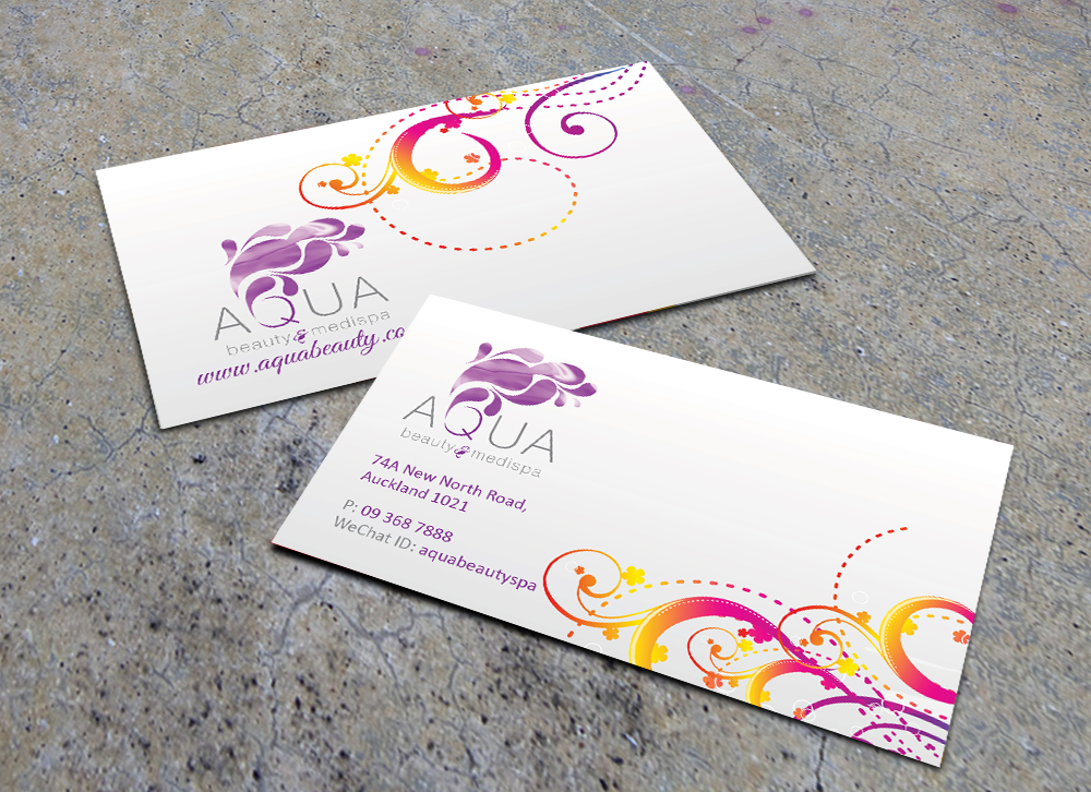 Business Card Design For Ariel By Gtools
