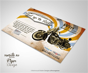 Flyer Design by Mahmoud Shahin - Fuel up to Ride