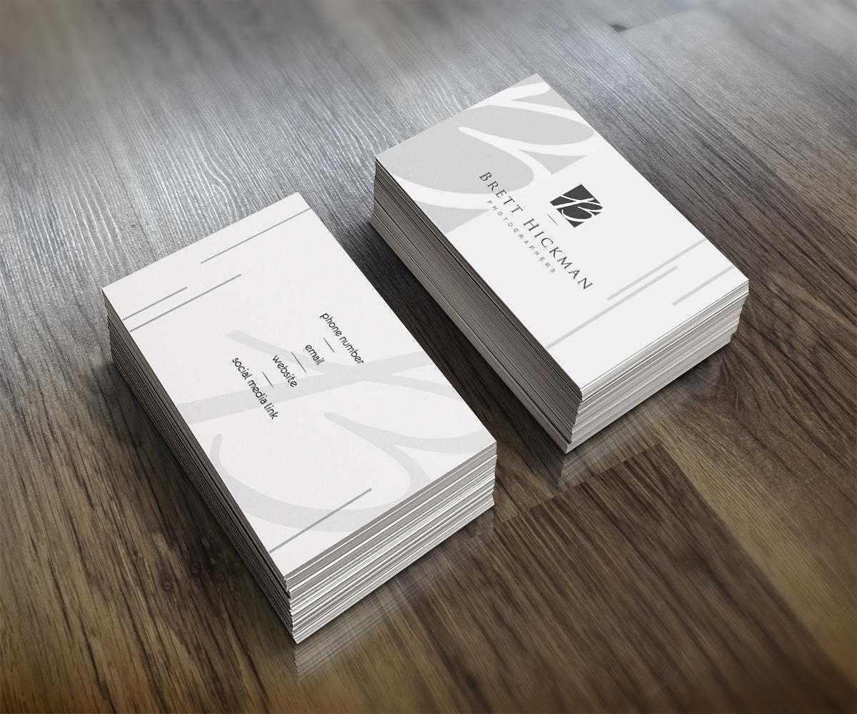 Upmarket, Serious, Business Business Card Design for Brett Hickman ...