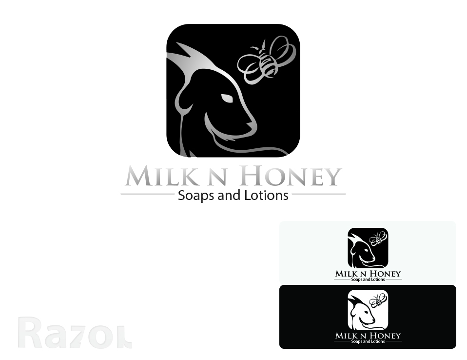 Milk Logo Design Logo Design by Razor Smith For