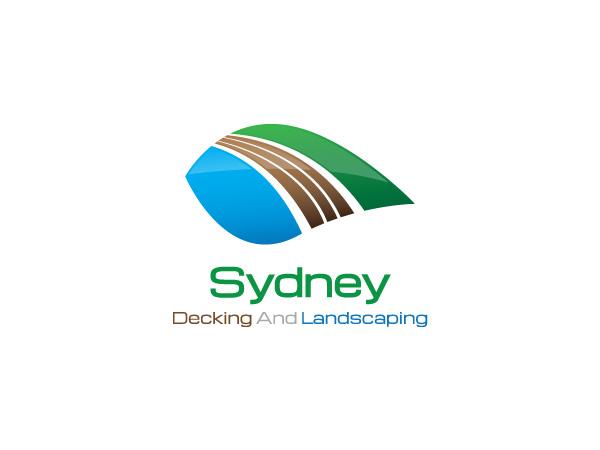 Landscaping logo design for sydney decking and landscaping for Garden design jobs sydney