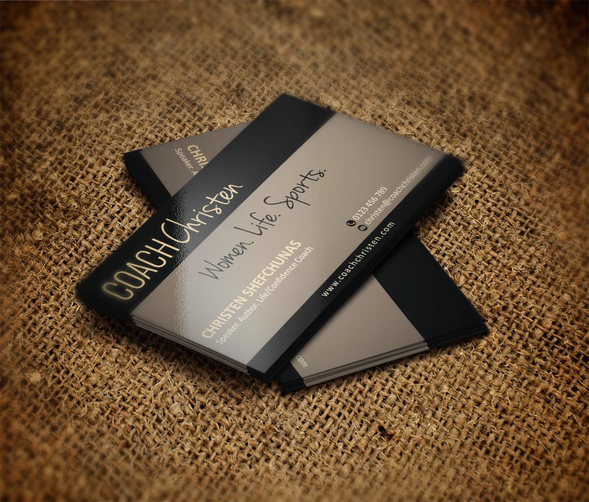 Business Card Design for Christen Shefchunas by MT | Design #3356250