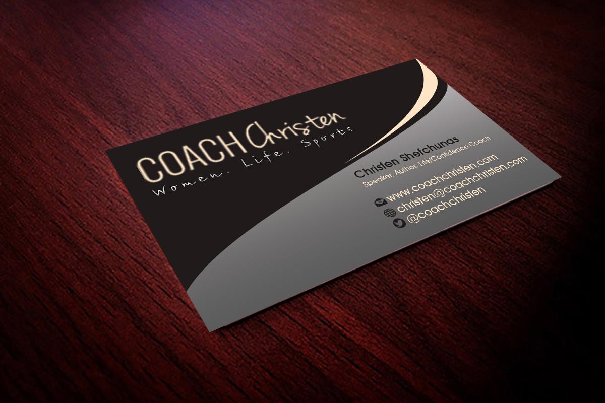 Business Card Design for Christen Shefchunas by Hardcore Design ...