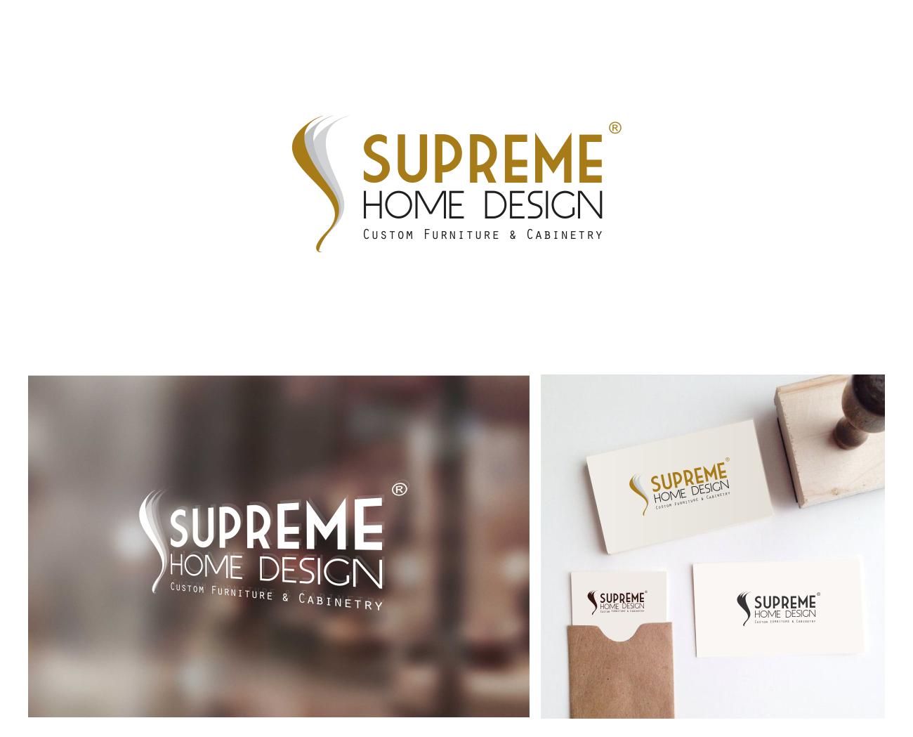 Logo Design By Monogram For Logo Design For Supreme Home Design, Custom  Wood Furniture U0026