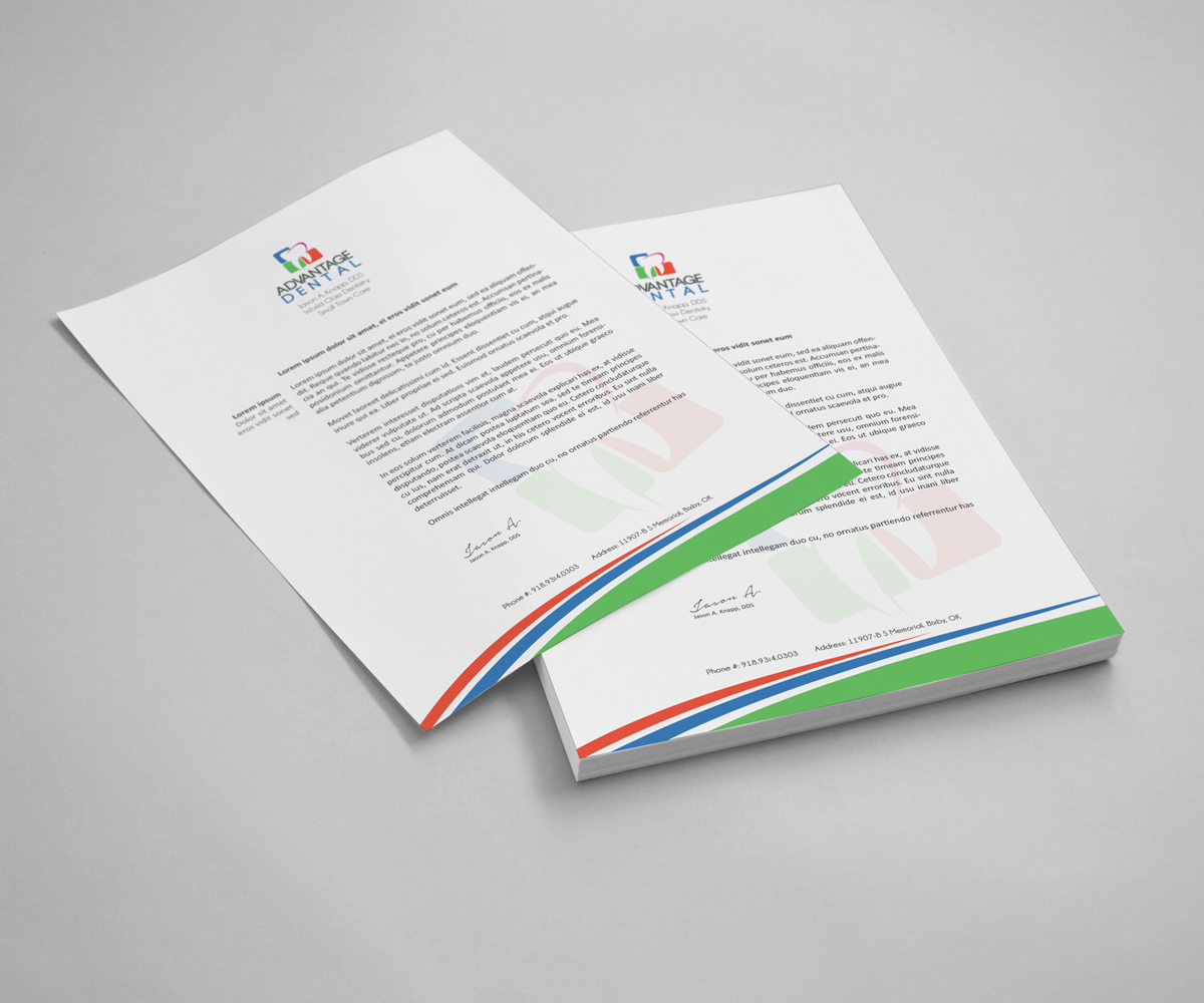 A Creative Corporate Letterhead For Dealing Business With: Business Letterhead Design For A Company By Creative