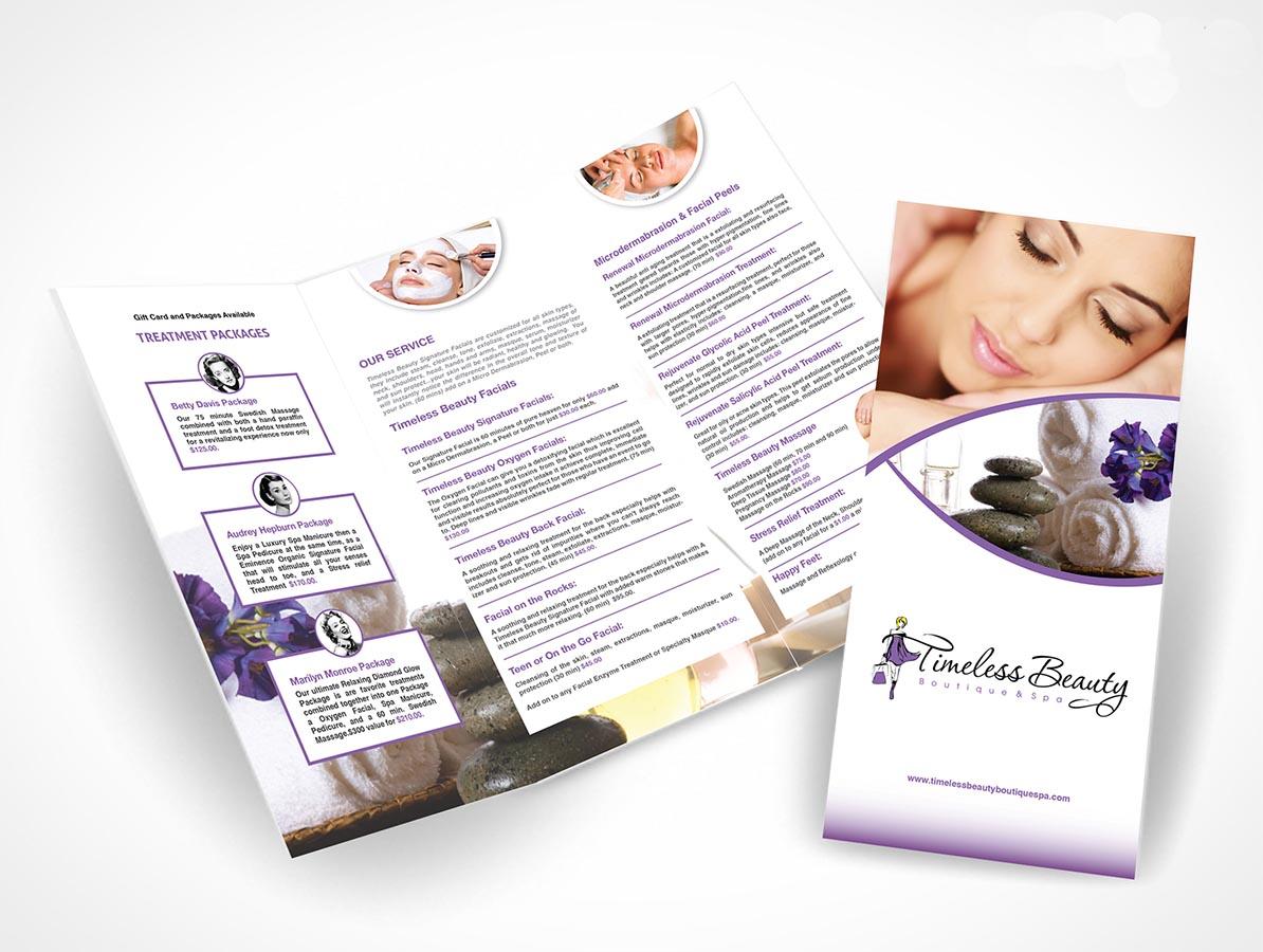 Feminine, Elegant, Boutique Brochure Design for a Company by ...