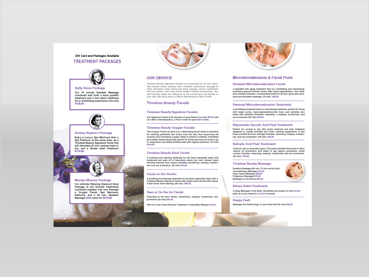 Feminine, Elegant, Boutique Brochure Design for a Company by ...