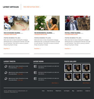 Wordpress Design Contest Submission #838200