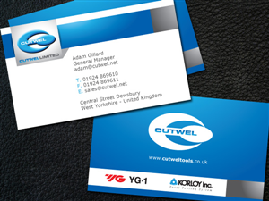 Business Card Design Illustrator 100849