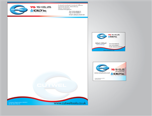 Business Card Design Illustrator 107948