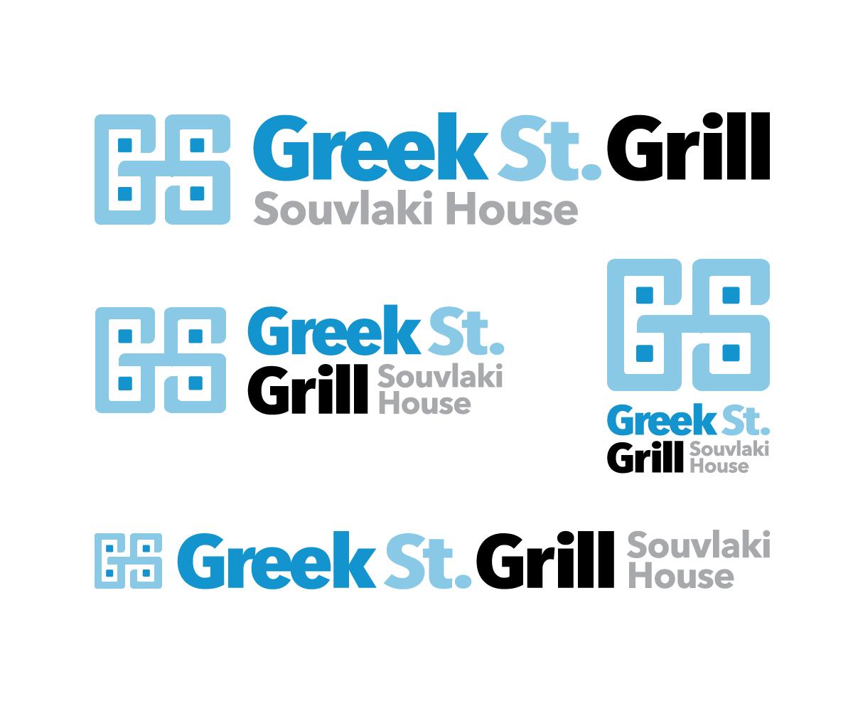 Modern Professional Business Logo Design For Greek Street Or St