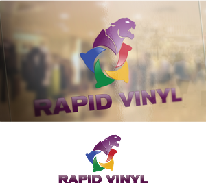 Graphic Design by HarryGfx - New Logo for Vinyl Company Local and Online