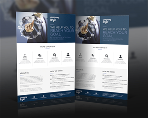 10 Professional Conservative Flyer Designs for a business in ...