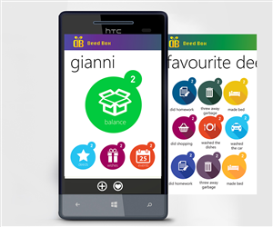 App Design by Monsterish - UI for the Windows Phone 8 App