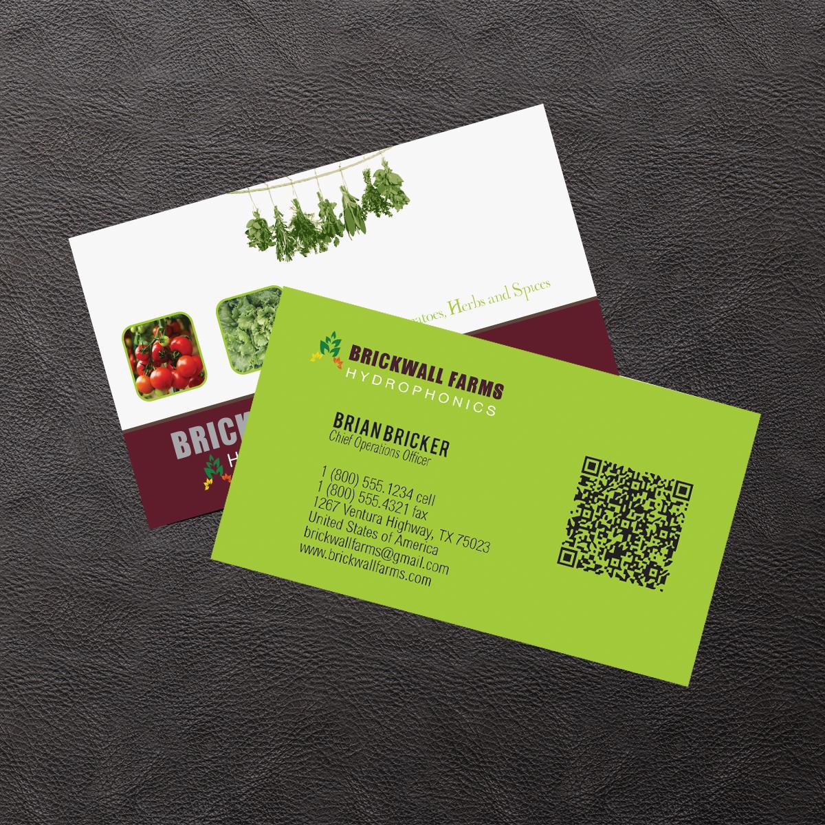 Business Card Design for Brian Bricker by Venus L. Penaflor | Design ...