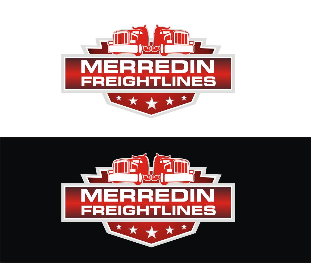 Merredin Freightlines Logo by java land