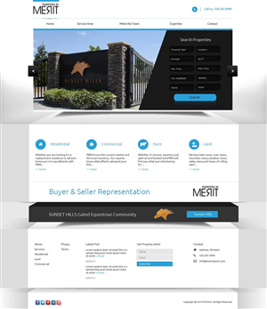 Web Design by sephiroth - Basic Commercial & Residential Real Estate Web ...