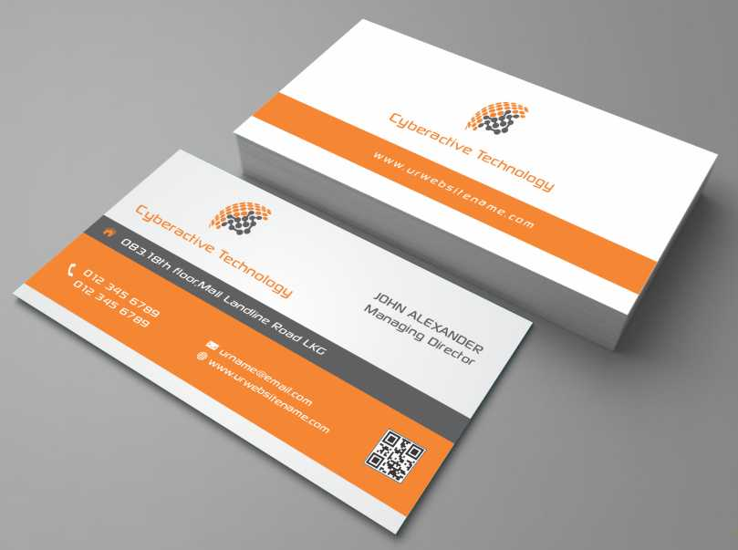 Modern, Professional, Computer Business Card Design for a Company by ...