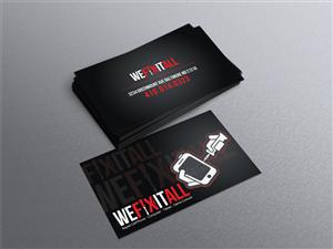 Phone repair business cards phone repair business card for Cell phone repair business cards