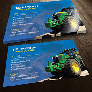 24 Business Card Designs Construction Business Card Design Project