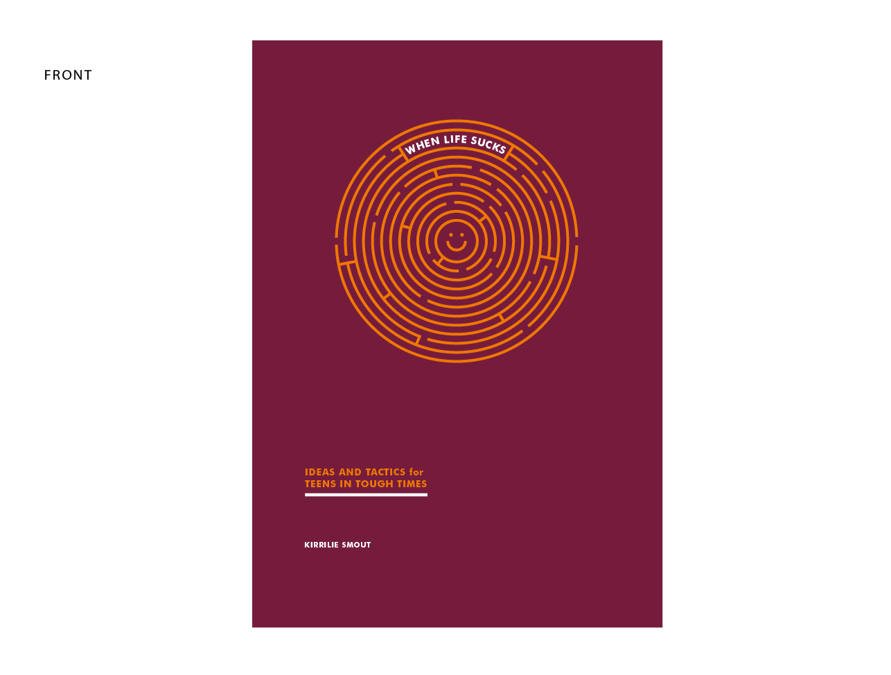Book Cover Design Help : Bold playful book cover design for innovate psychology