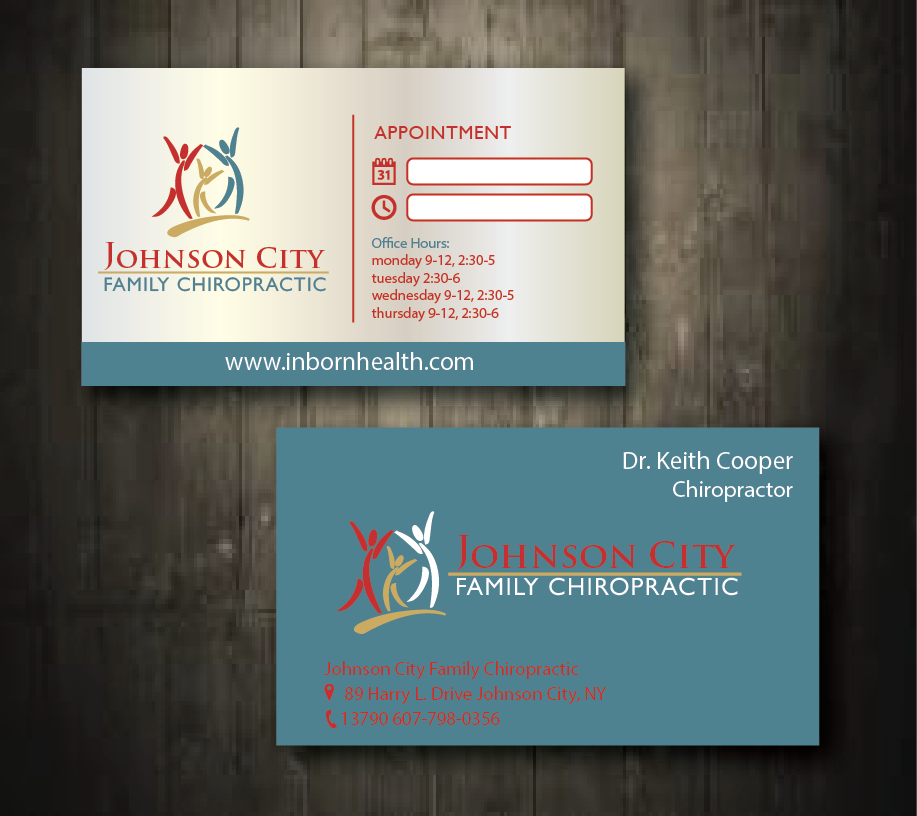 Serious, Modern, Business Business Card Design for Johnson City ...