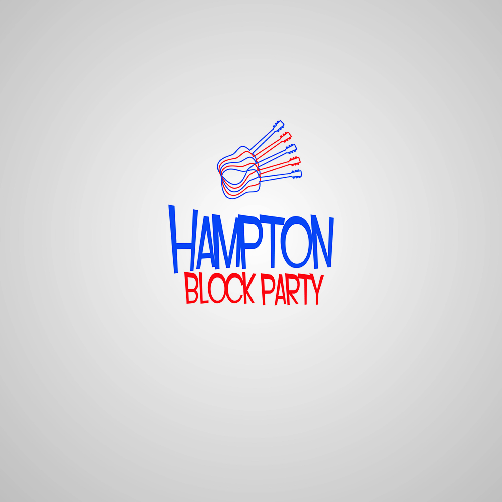 Playful, Personable, Event Logo Design For Hampton Block Party By Gockomkd
