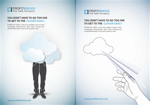 Print Design by doraschall - 'Wired' Magazine-Full Pg Print Ad-Cloud Computi...