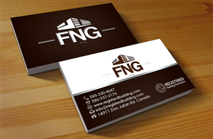 37 business card designs construction business card design project business card design by hardcore design for fng group pl design reheart