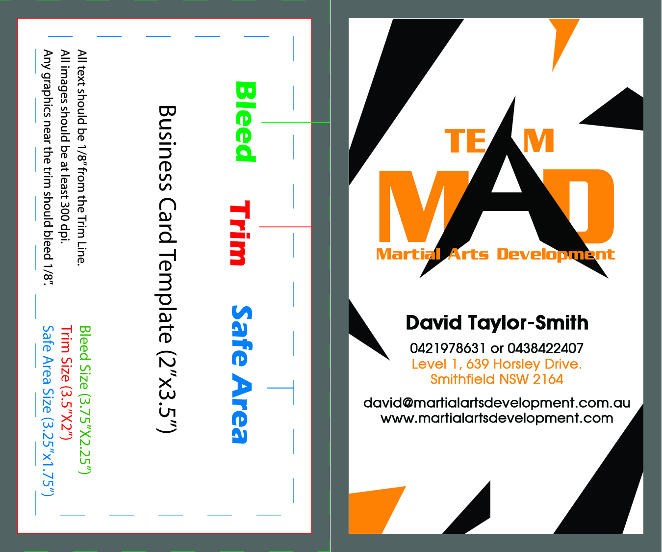 Bold serious training business card design for martial arts business card design by wiki designer for martial arts development design 3371987 colourmoves