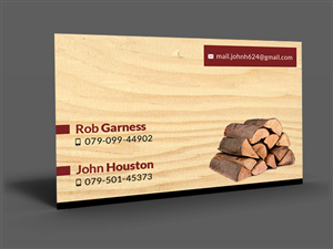 24 business card designs firewood business card design project for business card design by artman for this project design 3399061 colourmoves
