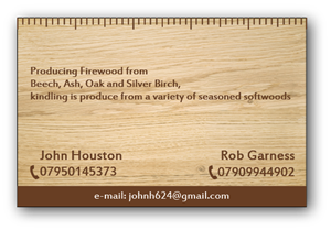 24 business card designs firewood business card design project for business card design by alex989 for this project design 3399974 colourmoves