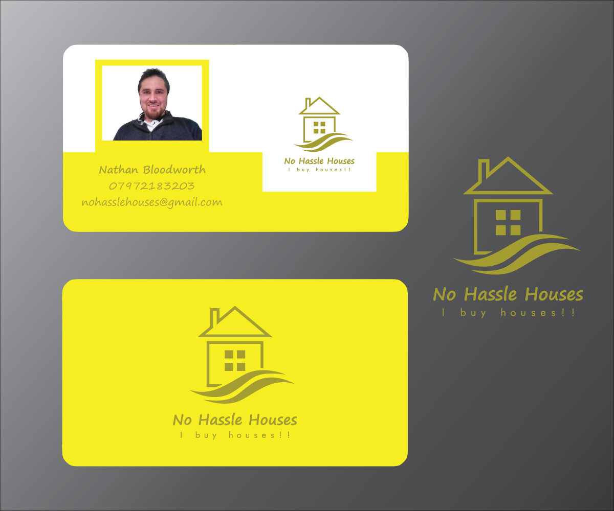Economical personable business card design for nathan bloodworth business card design by tjax for property investor needs a business card with logo design magicingreecefo Image collections