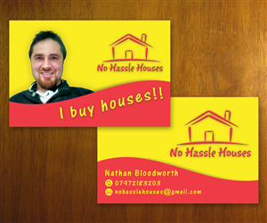 Business Card Design 3382461 Submitted To Property Investor Needs A