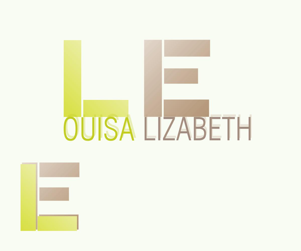 Elegant Playful Logo Design For Louisa By Verde Design