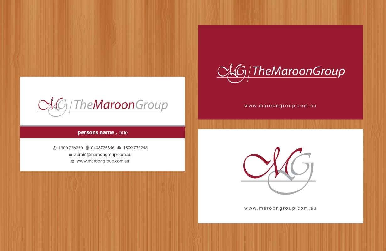Conservative, Modern, Business Business Card Design for a Company by ...