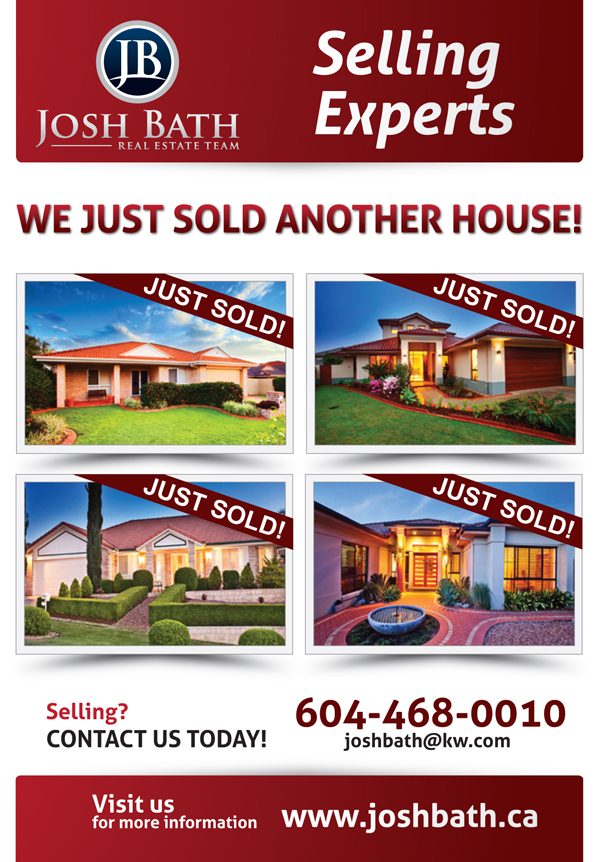 31 upmarket bold marketing flyer designs for a marketing for Real estate just sold flyer templates