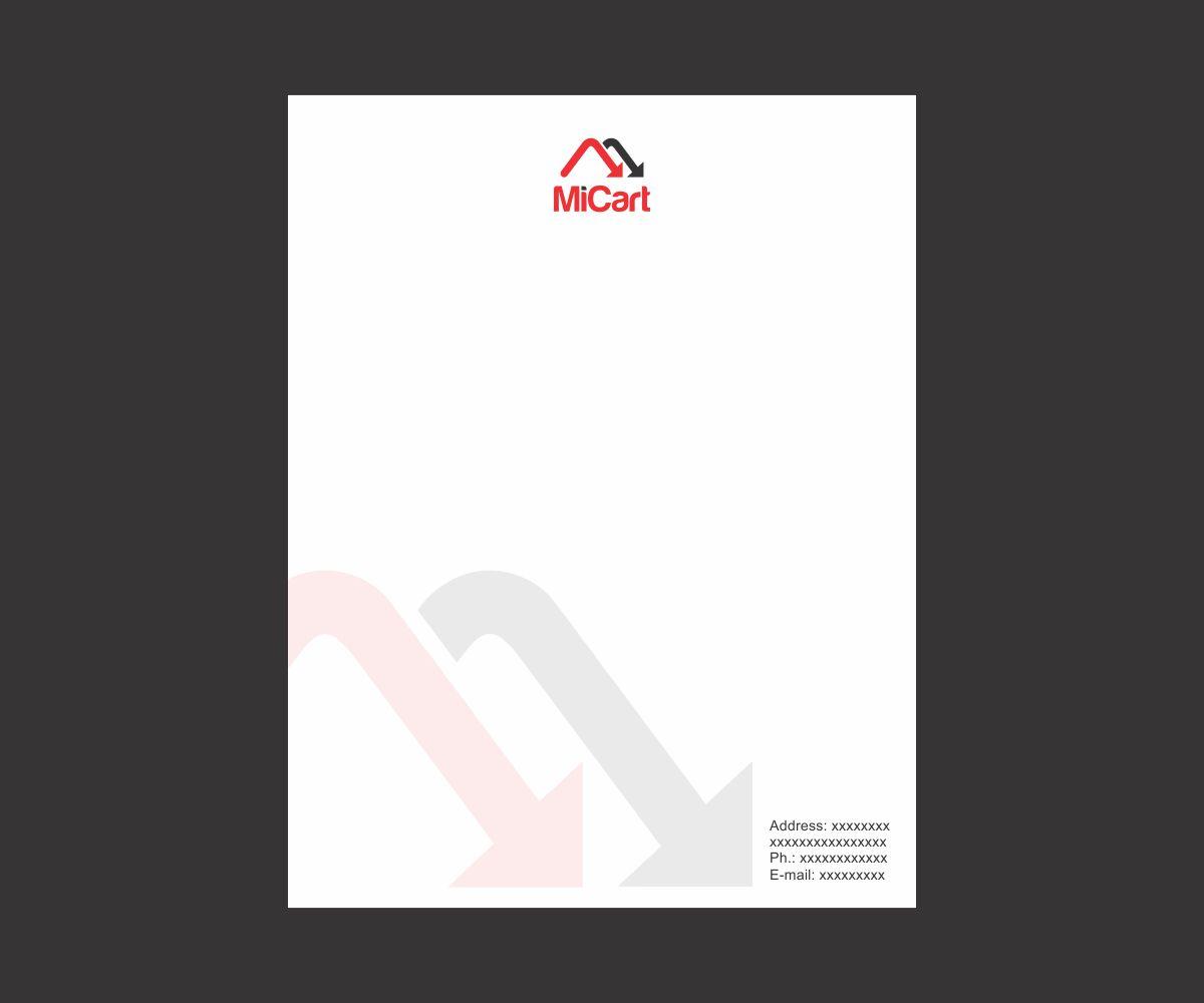 Modern, Professional, It Company Letterhead Design for a