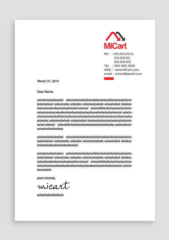 Modern, Professional, It Company Letterhead Design for a Company by