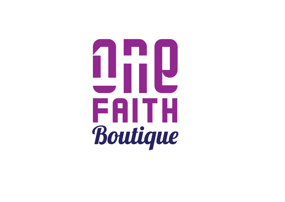 Clothing Logo Design for One Faith Boutique... This is where we are ...