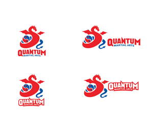Logo Design by LOGO PAINTER - Quantum Martial Arts Logo