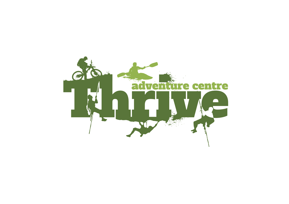 logo design for thrive by pnd design 3433566