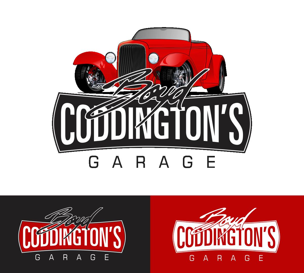 serious modern garage logo design for boyd coddingtons