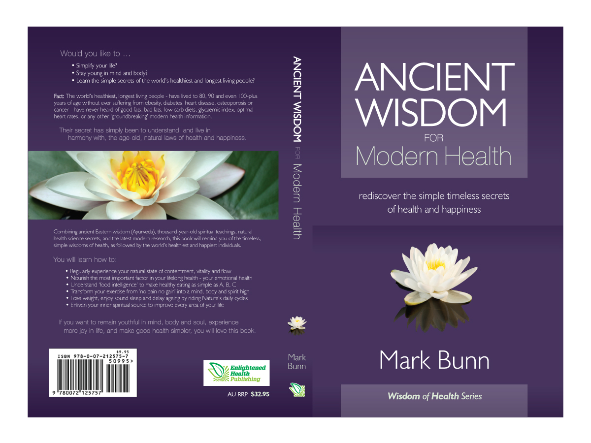 Health Book Cover Design ~ Elegant modern printer book cover designs for a