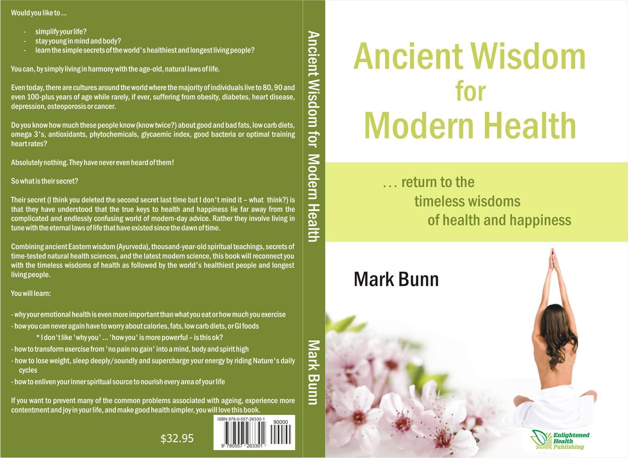Health Book Cover Design : Elegant modern printer book cover designs for a