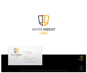 Logo Design by DanielCaso - Logo Branding for White Knight Labs