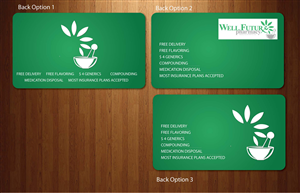 business card design by sbss for this project design 845282 - Pharmacy Business Cards