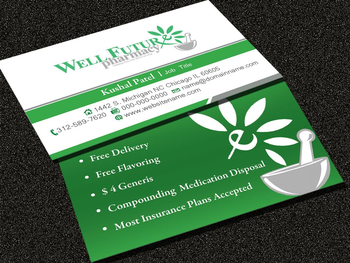 elegant playful business card design for kushal patel by