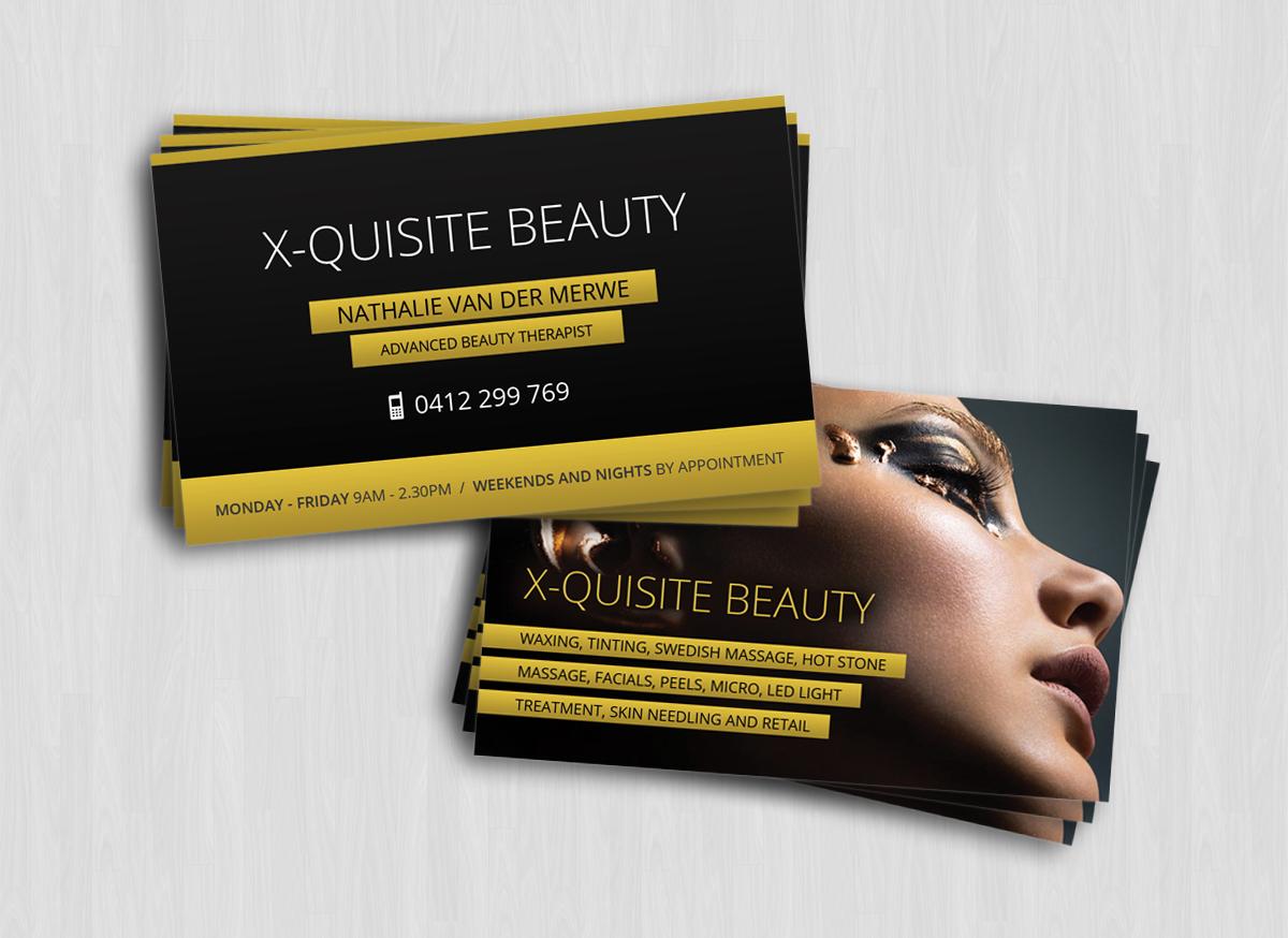 Modern, Feminine Business Card Design for Nathalie Van Der Merwe ...